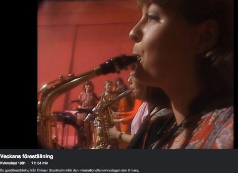 Min karriär som saxofonist